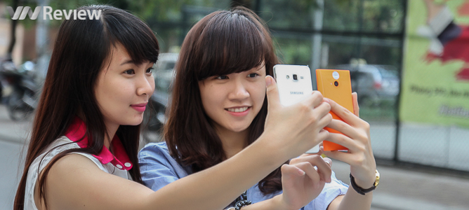 """Những smartphone dưới 5 triệu có camera """"tự sướng"""" tốt"""