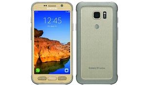 Ảnh render Galaxy S7 active bản màu vàng