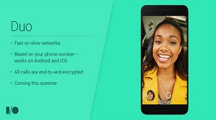 Google ra mắt ứng dụng gọi điện video Duo