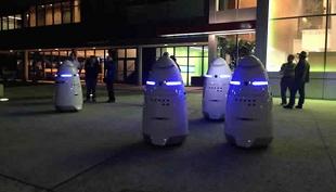 Robot chống tội phạm tuần tra đường phố California