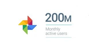 Google Photos đạt mốc 200 triệu người dùng hàng tháng