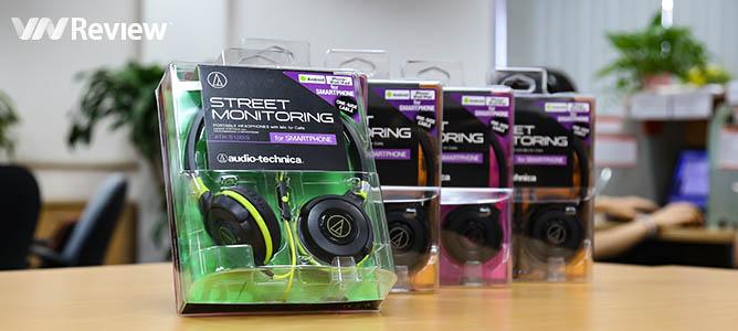 Tặng bạn đọc 5 tai nghe Audio Technica ATH-S100iS