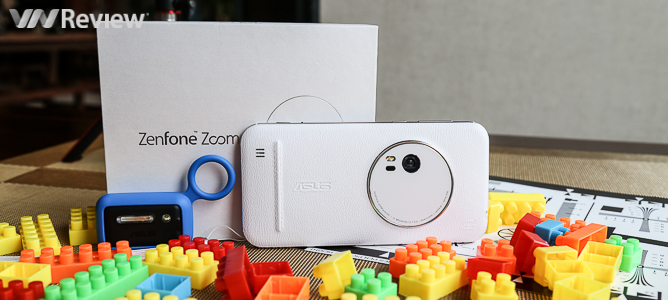 Trên tay Asus Zenfone Zoom: Chụp ảnh chuyên nghiệp với camera zoom quang 3X