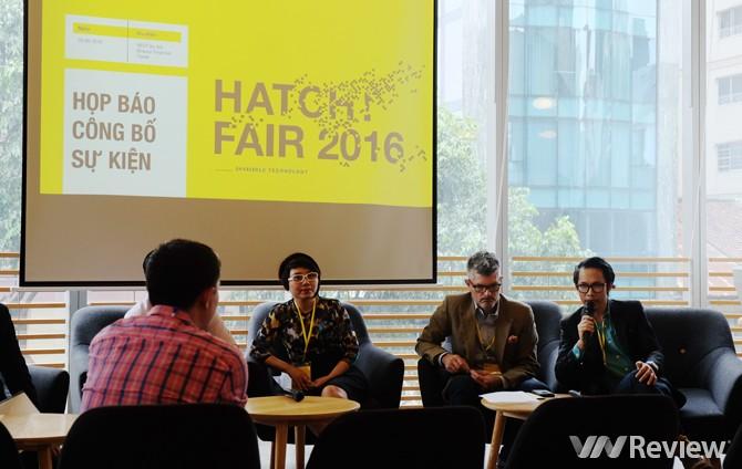 Triển lãm khởi nghiệp HATCH! FAIR 2016 sẽ diễn ra từ 7/10