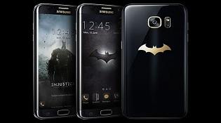 """Samsung giới thiệu phiên bản Galaxy S7 Edge """"người dơi"""""""