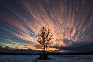 """Cách tạo hiệu ứng """"mây chồng mây"""" tuyệt đẹp bằng Photoshop"""