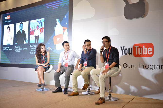 Youtube Guru lần đầu được giới thiệu tại Việt Nam