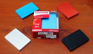 Ổ cứng Toshiba Canvio Alumy 2TB giảm giá mạnh, tặng kèm tai nghe Ibiza