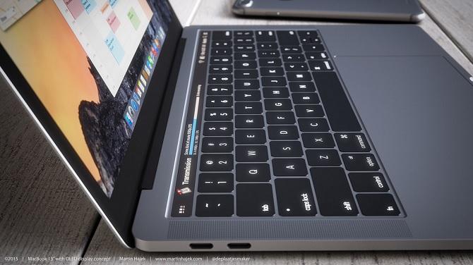 Bản dựng Macbook Pro đẹp long lanh, khiến fan muốn mua ngay tức khắc