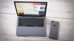 """Concept Macbook Pro dùng phím cảm ứng """"hút hồn"""" iFan"""