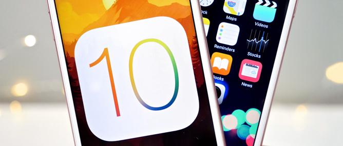 Danh sách các thiết bị sẽ được nâng cấp lên iOS 10