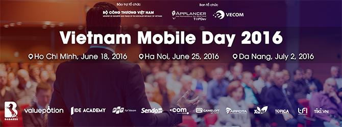 Vietnam Mobile Day 2016 nhấn mạnh TMĐT trên nền di động