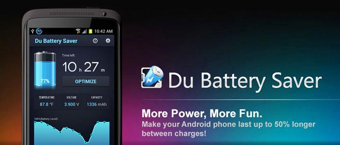 Ứng dụng DU Battery Saver có thực sự tiết kiệm pin?