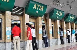 Đề xuất tăng hạn mức cho một lần rút tiền tại ATM