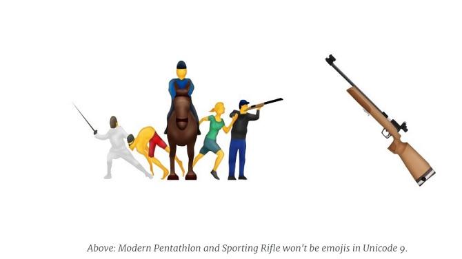 Apple cương quyết giữ ý kiến loại bỏ biểu tượng súng trường trong bộ mã Unicode