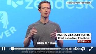 Facebook không còn cho phép nhúng link trong video