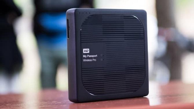 WD ra mắt ổ cứng dùng kết nối Wifi tốc độ cao
