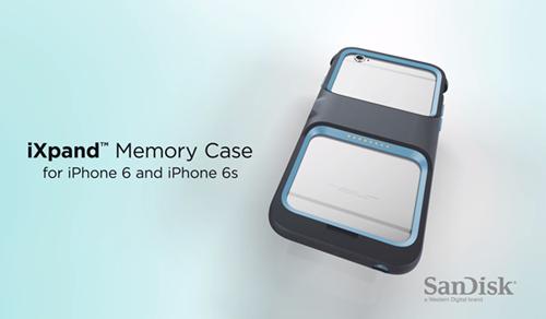 SanDisk ra mắt vỏ bảo vệ tích hợp bộ nhớ 128GB cho iPhone