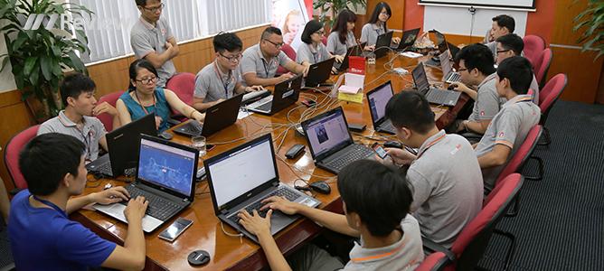 Đang diễn ra cuộc thi thực hành kiến thức an ninh mạng 2016
