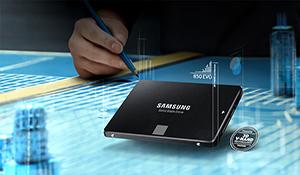 Ổ cứng SSD Samsung 850 EVO 120GB giảm giá còn 1,39 triệu đồng
