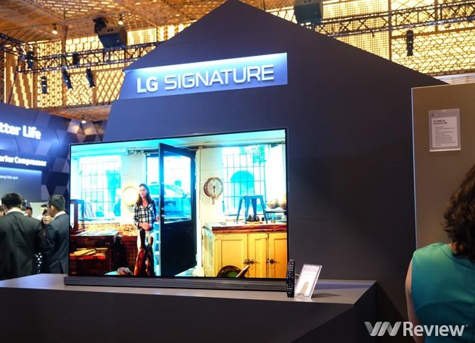 Mẫu TV OLED 4K của LG được tôn vinh tại CE WEEK 2016