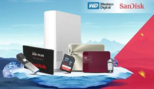 Nhiều sản phẩm giảm giá nhân dịp WD và SanDisk chính thức về một nhà