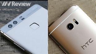 Huawei P9 đọ camera giấu mặt với HTC 10