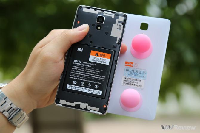 Đánh giá thời lượng pin của Xiaomi Mi4 chính hãng - 130406