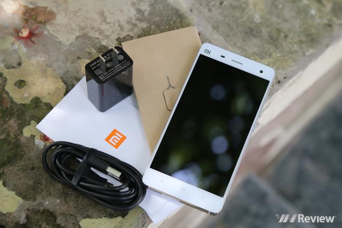 Đánh giá thời lượng pin của Xiaomi Mi4 chính hãng - 130410