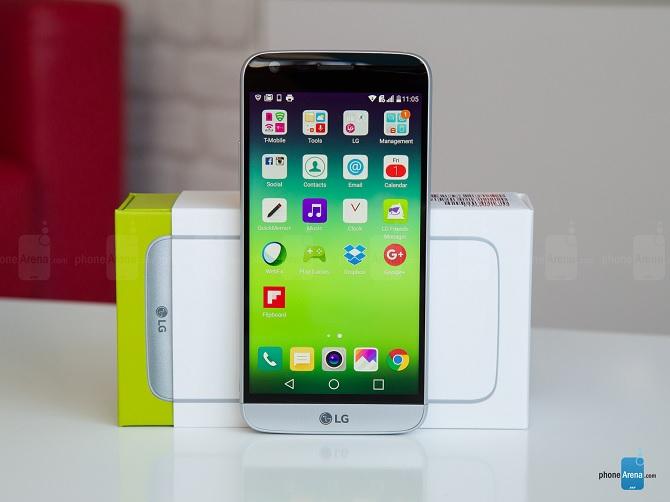 Doanh số LG G5 gây thất vọng cho LG
