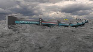 Thiết bị dài gần 100km tự thu gom rác thải trên biển