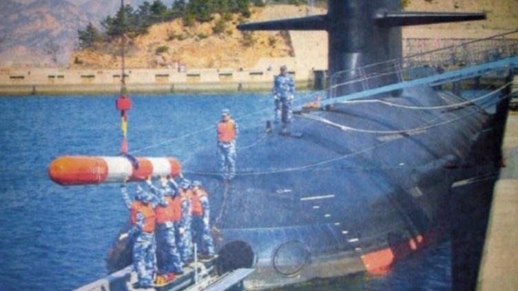 Lộ thêm ảnh tàu ngầm tấn công Trung Quốc Type 093 phiên bản mới