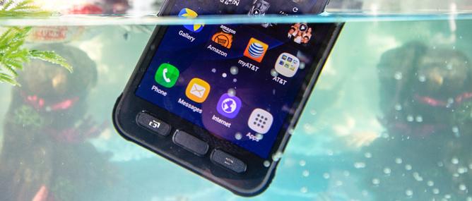 Consumer Reports: Galaxy S7 Active trượt bài test ngâm nước