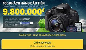 Tiki ra mắt dịch vụ giao máy ảnh miễn phí trong 24 giờ tại TP.HCM