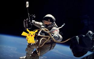 Liệu có thể chơi Pokémon Go ngoài vũ trụ?