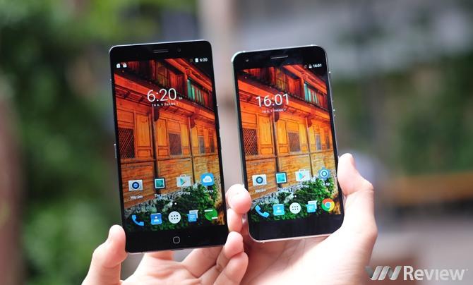 Ra mắt smartphone có cảm biến vân tay giá dưới 2 triệu đồng