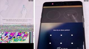 Samsung Galaxy Note 7 lộ ảnh mới xác nhận có cảm biến mống mắt