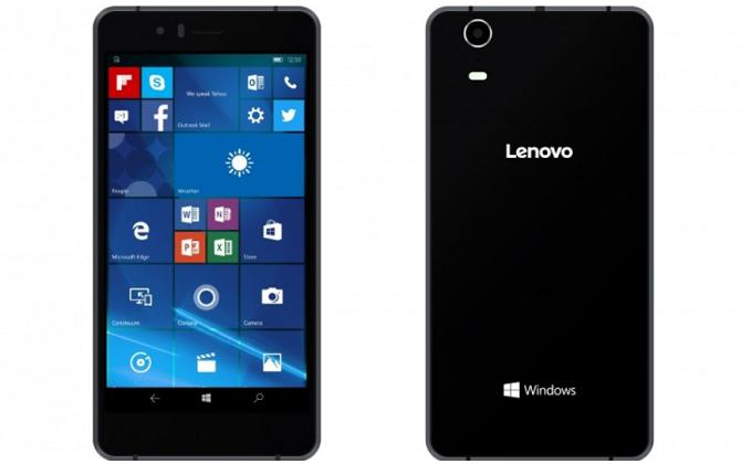 Lenovo công bố smartphone chạy Windows 10 đầu tiên của hãng