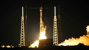 Tên lửa Falcon 9 lần thứ 2 hạ cánh thành công xuống mặt đất