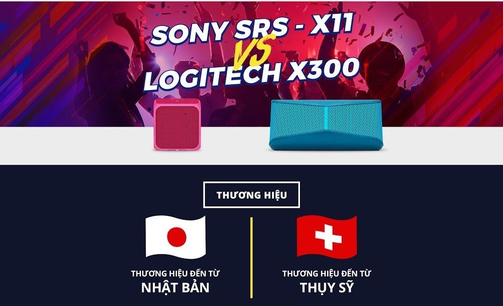 Dùng thử loa bluetooth Sony hoặc Logitech 30 ngày miễn phí