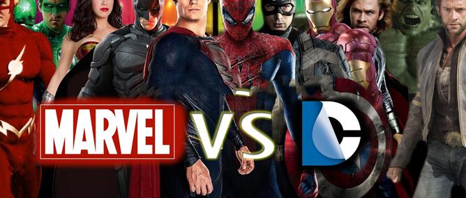 Marvel vs DC: Cuộc chiến của những gã khổng lồ (Phần 1)