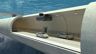 Na Uy hé lộ dự án đường hầm sâu 1,2km dưới lòng biển