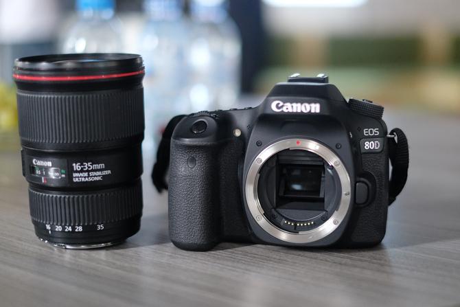 Trải nghiệm Canon 80D cùng chuyên trang bán lẻ máy ảnh số