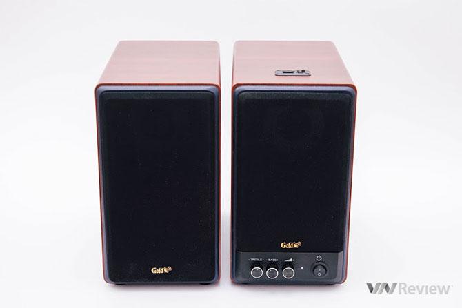 Đánh giá loa vi tính GoldSound GS51-USB: Loa tốt, nghe cá tính, phụ kiện cần cải thiện