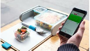 Theo dõi chế độ dinh dưỡng bằng hộp cơm thông minh
