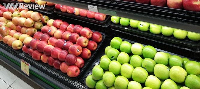 Nhãn dán trên hoa quả nhập khẩu có ý nghĩa gì?