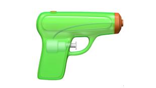 iOS 10 thay emoji súng lục bằng súng phun nước