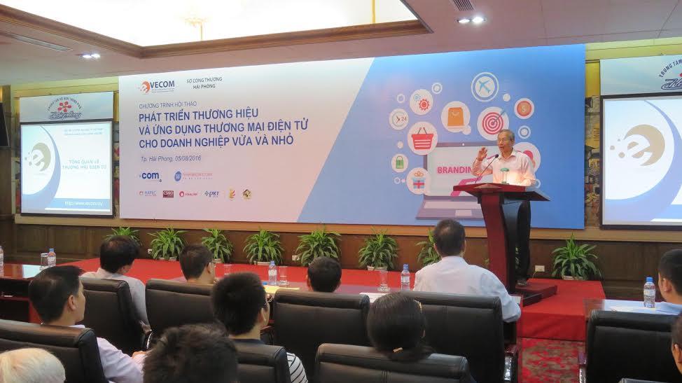 Xây dựng thương hiệu và phát triển TMĐT cho doanh nghiệp vừa và nhỏ tại Việt Nam