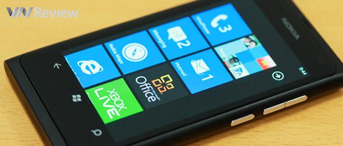 5 điểm tôi thích ở Nokia Lumia 800 (và 5 điểm không thích)