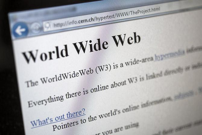 Đã hơn 25 năm kể từ khi trang web đầu tiên được công bố